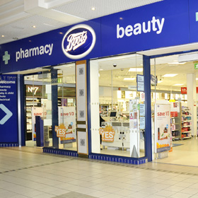 boots shop front 171 monaghan shopping centre