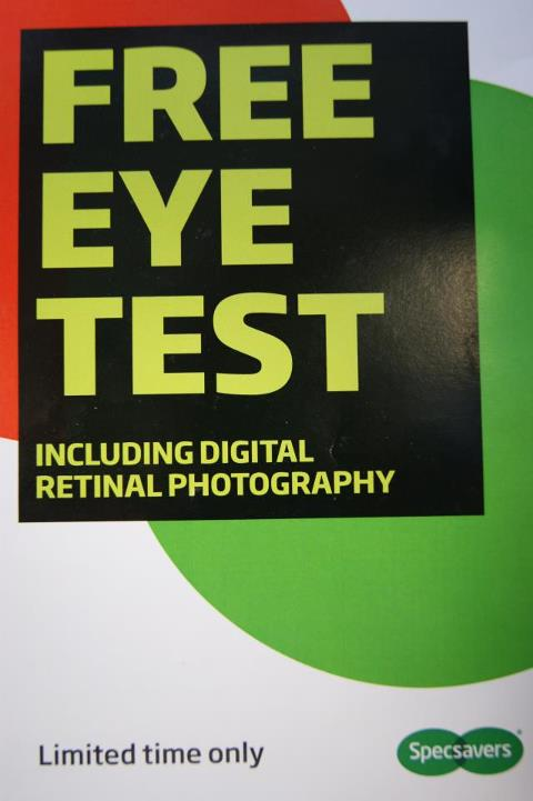 5cc9c01fd36 Specsavers Free Eye Test « Monaghan Shopping Centre